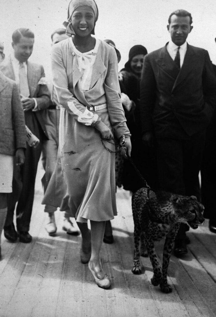 Josephine Baker's leopard